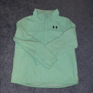 Youth XL Under Armour Quarter Button Up
